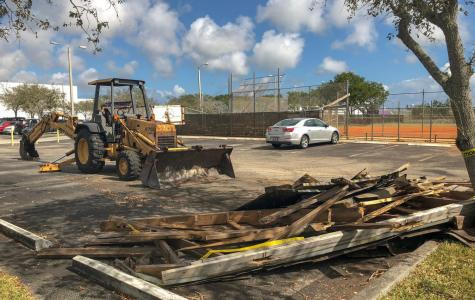 Debris cleared after months of uncertainty
