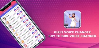Male to female voice changer App