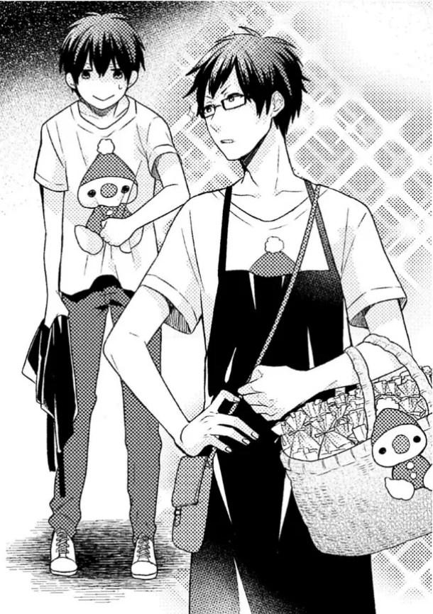 Noda and Mizuhara Wearing Elf T-shirts