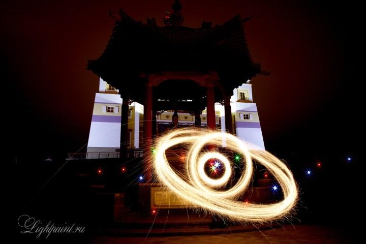 Фризлайт картина - Quantum gravity fire