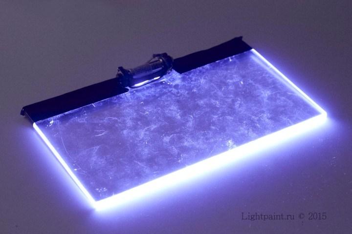 фонарик Crystal brush сборка