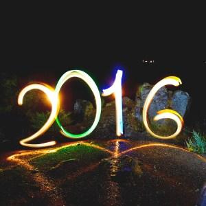 Фризлайт открытка Новый год 2016!