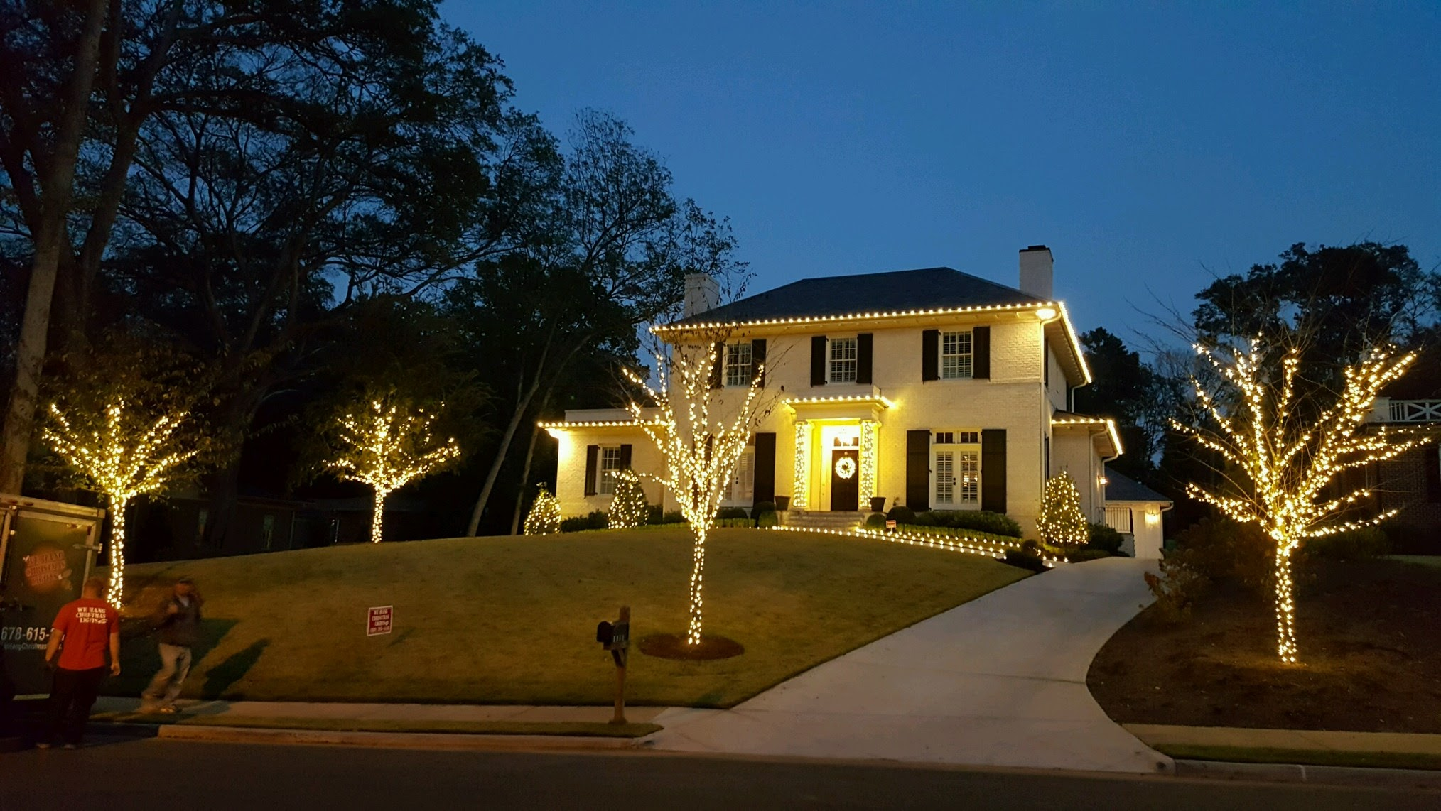 christmas light installation atlanta