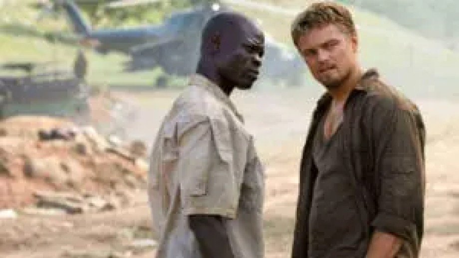 Blood Diamond poster from Lights, Camera, BAKE! where we discuss and review blood diamond