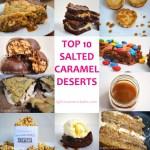 10 Salted Caramel Desserts