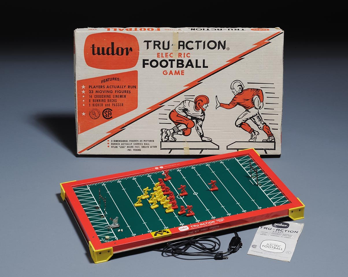 electric football 1960 toy boom exhibit raleigh NC Museum of History