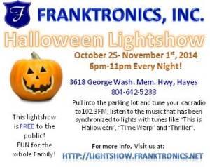 Halloween Lightshow