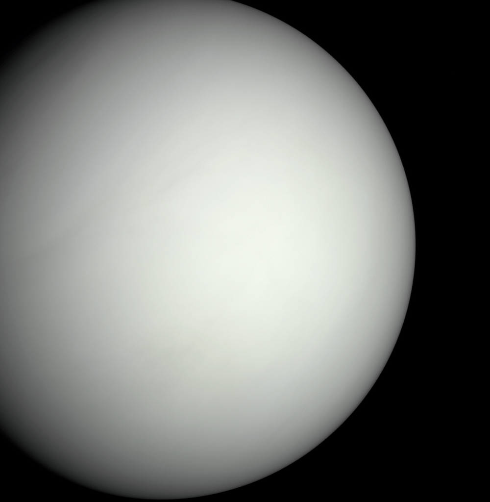 The Blank Face of Venus