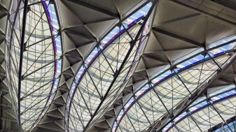 Airport ceiling