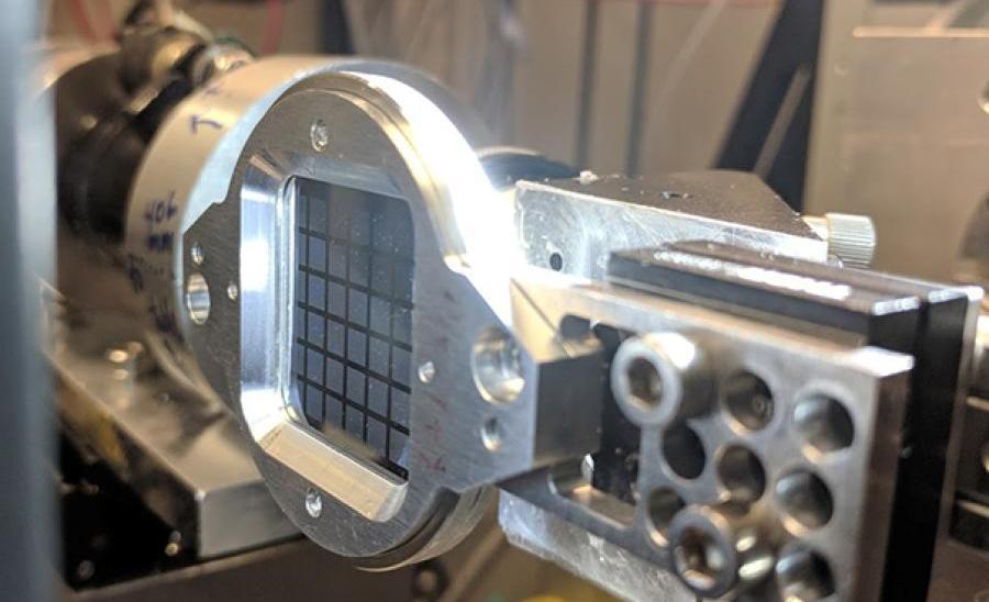 Serial microcrystallography at CHESS