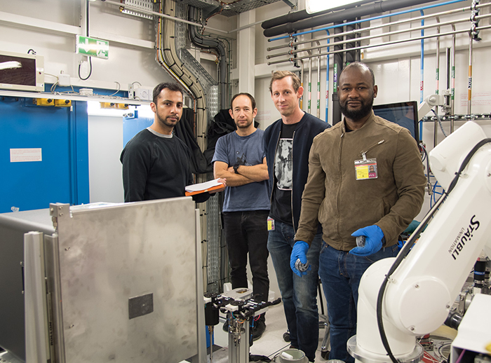 ID23-EH2: Gearing up for serial crystallography