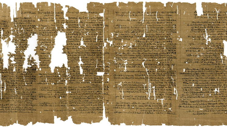 Ancient Egyptian papyrus' ink reveals its origin