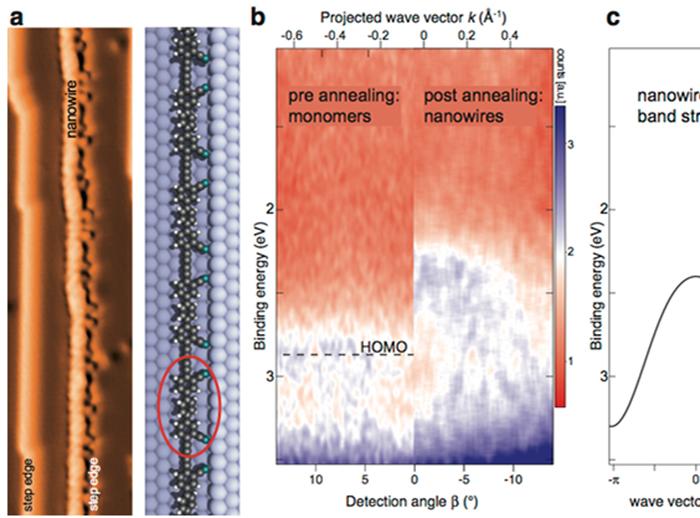 Functionalized graphdiyne nanowires
