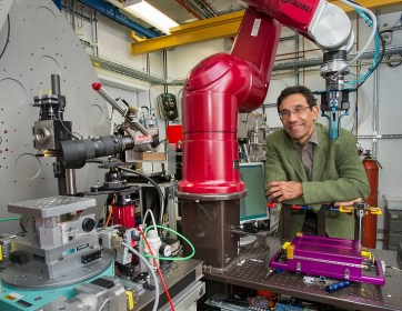 At NSLS-II (Brookhaven National Laboratory) scientist use beamline 8-ID for their hard and tender x-ray spectroscopy. (Credit: BNL)