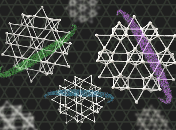 """The electronic structure of a """"Kagome"""" material"""