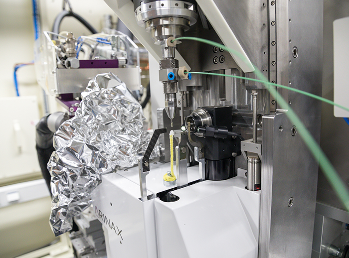 First serial crystallography experiments performed at BioMAX