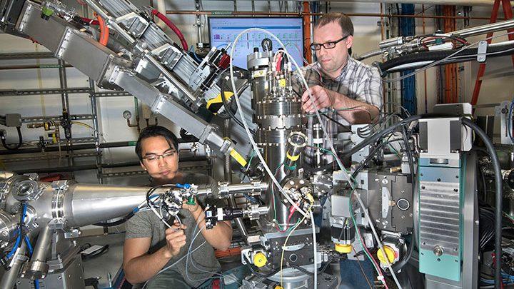 Creating 'movies' of thin film growth at NSLS-II