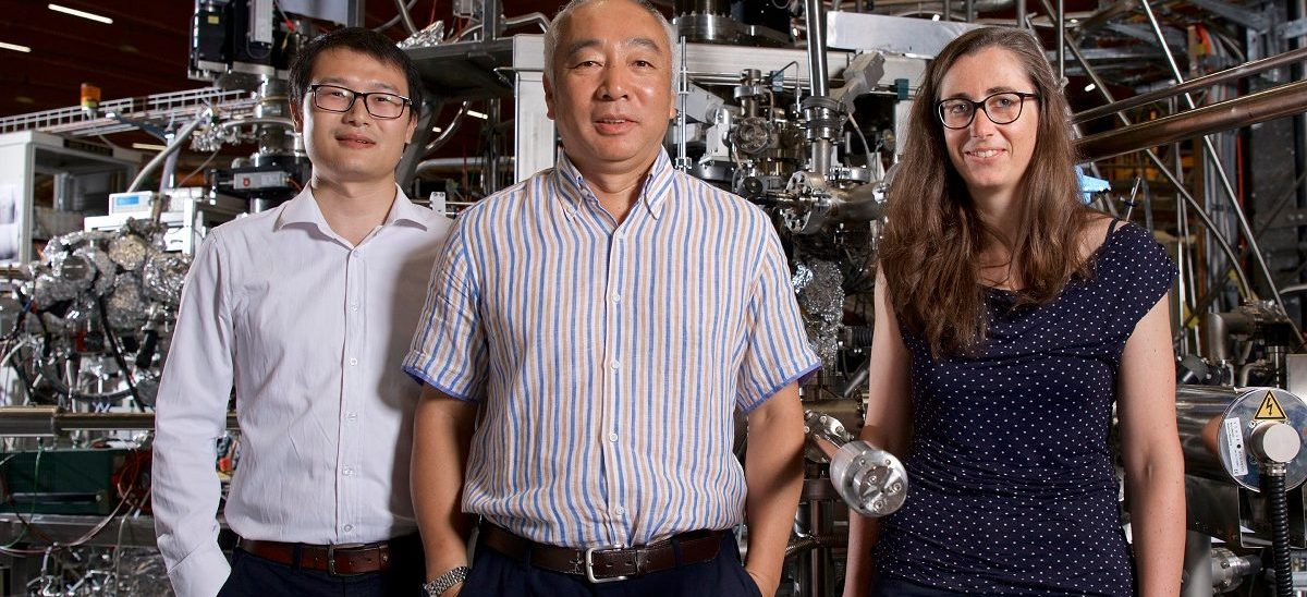 Weyl fermions discovered in another class of materials
