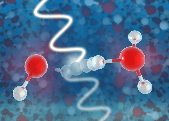 Scientists observe ultrafast birth of free radicals in water