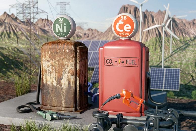 New catalyst resists destructive carbon buildup in electrodes