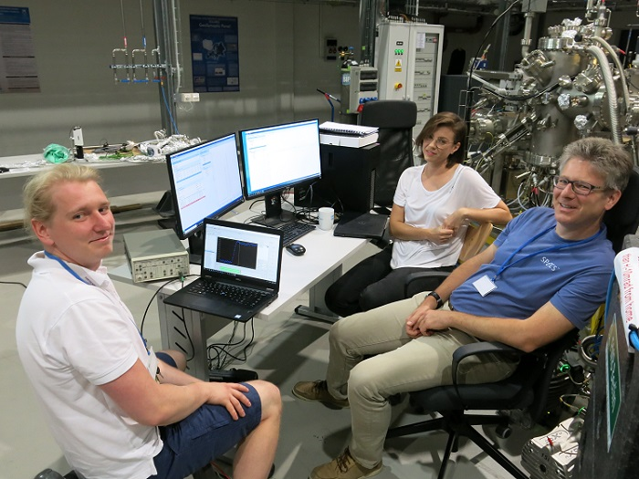 PHELIX beamline is ready to research