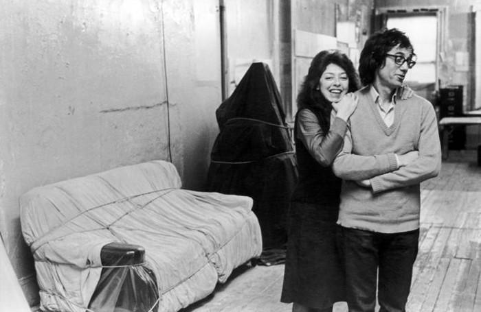 Jeanne-Claude e Christo negli anni Settanta