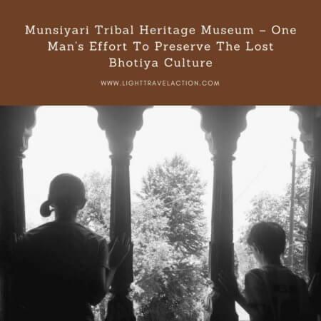 kids at the Pitthorogarh, Munsyari, Uttrakhand, Tribal Heritage Museum in