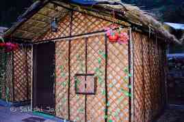 My bamboo hut