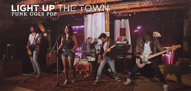 Cover Light Up The Town, Zedd, Alessia Cara