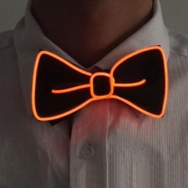 orange-el-wire-bow-tie