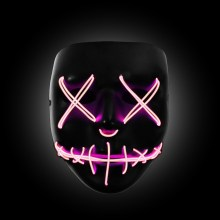 pink the purge mask