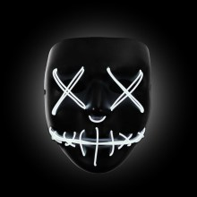 white the purge mask