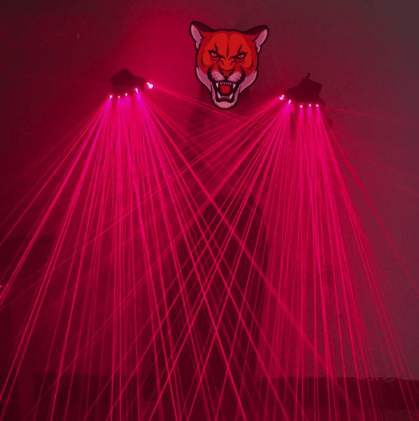 red laser gloves