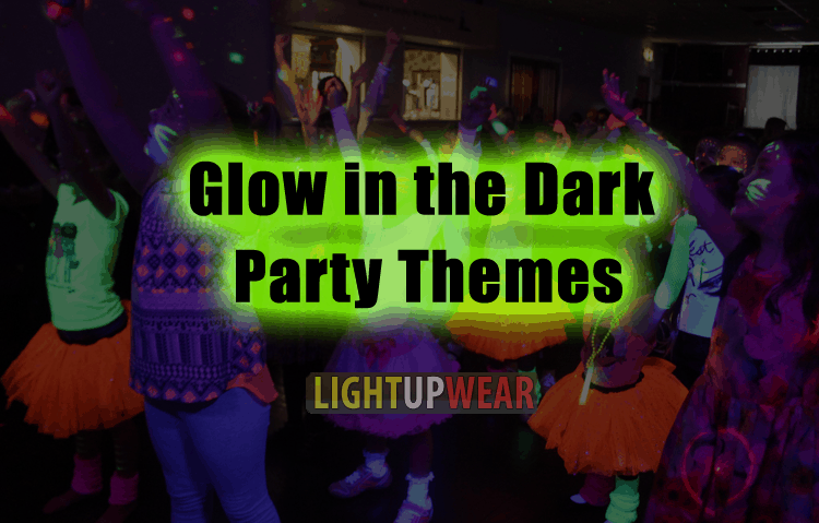 glow in the dark party themes