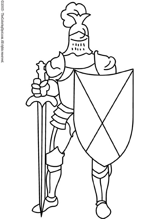 shield coloring page # 38