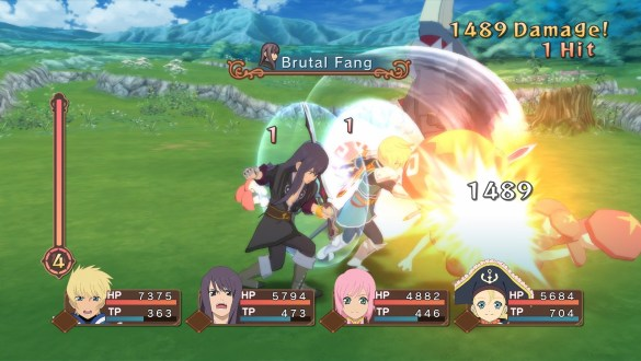 Tales Of Vesperia Flynn and Patty in battle