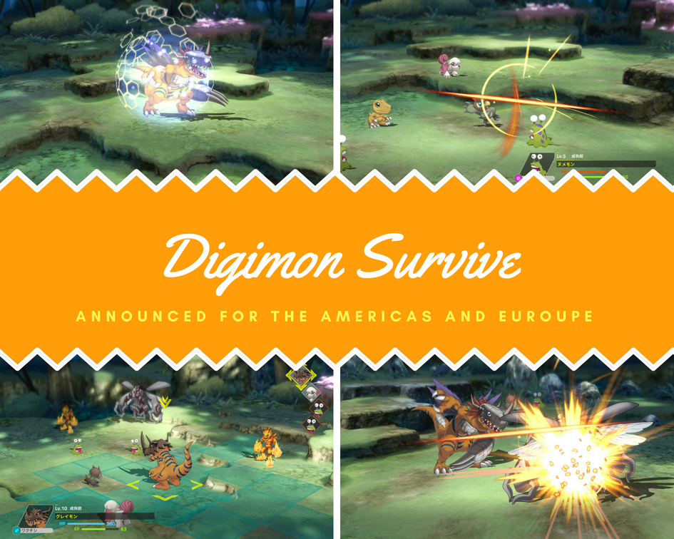 Digimon Survive Announced for North America and Europe