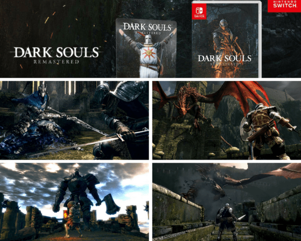 Dark Souls Remastered launching October 19 on Nintendo Switch