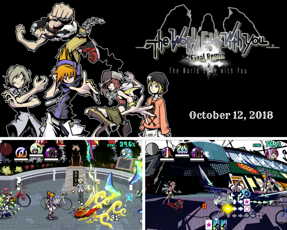 The World Ends with You launches October 12 in the West