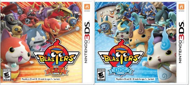 Yo-kai Watch Blasters: Red Cat Corp and White Dog Squad (3DS)
