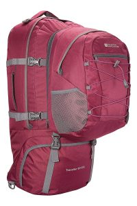 Mountain Warehouse Traveller 60 + 20L Rucksack - Durable Backpack