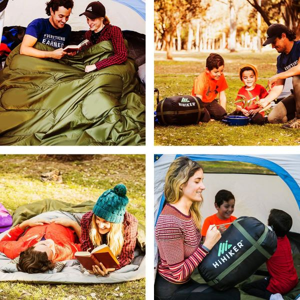 15 Best Zip Together Sleeping Bags for Couples: Double Sleeping Bag