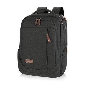 KROSER Laptop Backpack Large Computer Backpack Fits up to 17.3 Inch Laptop with USB Charging Port Water