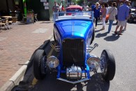 A hot rod in a spectacular colour