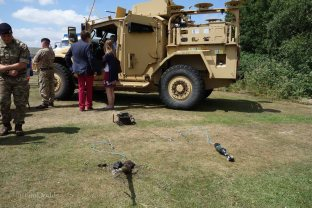 4-RLC Bomb Disposal Squad display