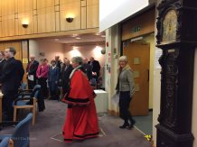 1-The Mayor enters the Council Chamber