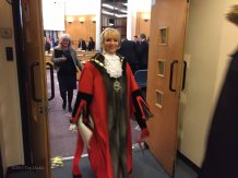 3-The Mayor leaves the Council Chamber