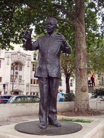 Nelson Mandela - Parliament Square