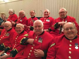 2-Chelsea pensioners at RLC Band Concert