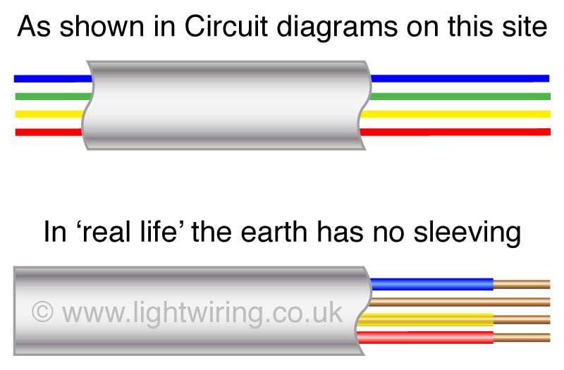 old lighting wiring older colour codes for ceiling rose equal i